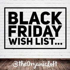 I want to hear from you   In order to avoid the crazy delays of last year's Black Friday sale I am starting early. Sound off below what you would like to see...  It can be anything :) Oldies new scents new products gift sets you can even put down a deal you'd be interested in. I love hearing your feedback!  Just so you know  Yes Chunky Zebra Unicorn Snot and the Body Butters will be returning. Ok GO! by theorganicloft
