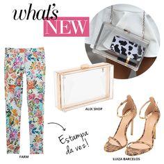 Compre moda com conteúdo, www.oqvestir.com.br #Fashion #AlixShop #Shoes #Summer #Jeans #Farm #LuizaBarcelos #Shop