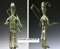 Bronzetti nuragici, bottega artistica.