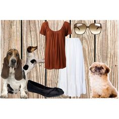"""Dogs"" by monaruth on Polyvore"