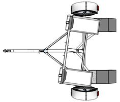 Are you wanting to build your own Tow Dolly Trailer, here you will find full plans, instructions, sketches and tips to help you build your own trailer from scratch.