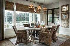 Elegant Moderner Style Rustikal Esszimmer