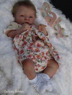 Jackies Babies~Reborn baby girl~Esme~Laura Lee Eagles~sold out sculpt~ltd edtn