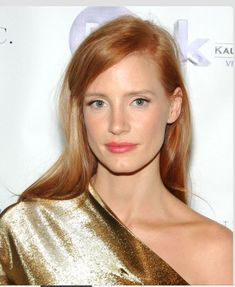 Jessica Chastain wedding makeup