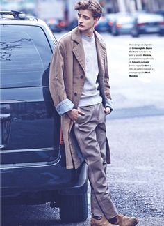 Men's style | Robert Laby for Esquire Spain by Andoni & Arantxa