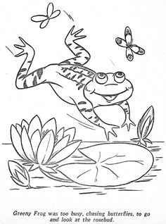 Coloring Pages Happy Elf