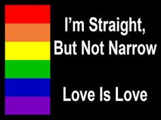 Straight or gay...love is love.