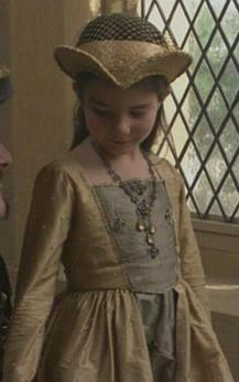 Sarah Bolger / Mary Tudor The Tudors  not sarah bolger - this is kid mary