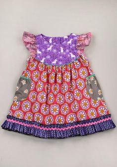 Spin Art Flutter Dress (RV $72)