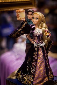 D23 Expo --  One of a set of five doll sets available from Disney. They were selling the set of ten dolls for $650.00.