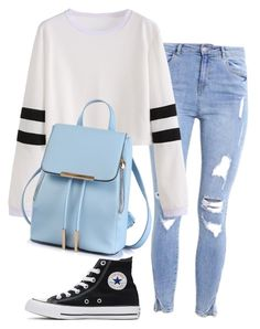 """Untitled #50"" by babyybirlem-1 on Polyvore featuring Converse"