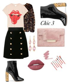 """""""Chic 3"""" by bmackler on Polyvore featuring Dolce&Gabbana, Carelle, Bdellium Tools, Dries Van Noten, MadeWorn and Lime Crime"""