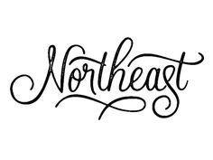 by Dan Cassaro #typography #design #calligraphy #lettering