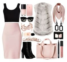 """""""Без названия #458"""" by maria-sirjak ❤ liked on Polyvore featuring Winser London, Calvin Klein Collection, Barbara Bui, Corto Moltedo, Manzoni 24, Yves Saint Laurent, Rebecca, GUESS, NARS Cosmetics and Bare Escentuals"""