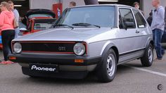 Golf 1, Mk1, Volkswagen Golf, Old School, Dream Cars, Camper, Classic Cars, Vehicles, Cherokee