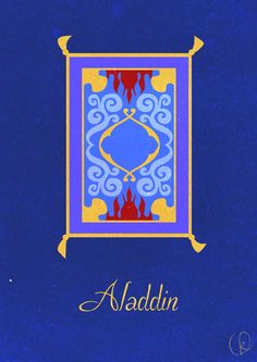[ Aladdin ] iPhone Wallpaper