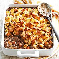 Beef Bourguignon Potpie Recipe---Beef bourguignon, a traditional French recipe, is usually made as a stew, but is equally as delicious in pot pie form. We didn't stray from traditional ingredients, but we added cubed croissants to the top of the beef and vegetable mixture for a slightly crunchy topper to your healthy casserole recipe.