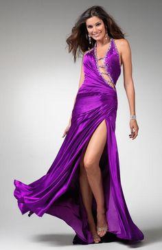 67d73b8786758 2012 Style A-line Halter Beading Sleeveless Floor-length Elastic Woven  Satin Prom Dresses   Evening Dresses