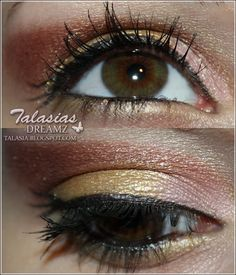 Eye Make Up - Datum: 02.03.2012  http://talasia.blogspot.de/2012/03/amu-swatch-nyx-single-eyeshadow-148_08.html