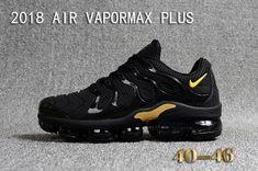 new concept 94dac 3c255 Popular Men Nike Air VaporMax Plus Coal Black Gold