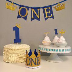 Primer paquete de cumpleaños de príncipe real silla alta