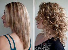 Hair Romance - Straight vs curly hair- tips for curly haircut Haircuts For Curly Hair, Curly Hair Tips, Long Curly Hair, Cool Haircuts, Straight Hairstyles, Curly Hair Styles, Curly Vs Straight Hair, Layers For Curly Hair, Layered Curly Haircuts