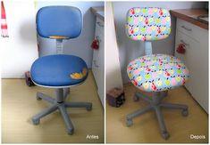 Desejo Craft: Cadeira renovada!
