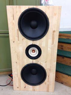 before testing Speaker Kits, Diy Speakers, Open Baffle Speakers, Rainy Lake, High End Audio, Loudspeaker, Box, Home Appliances, October 2014
