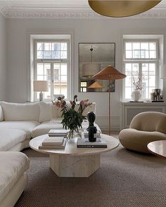 Instagram Home Living Room, Living Room Designs, Living Room Decor, Living Spaces, Decor Room, Living Room Interior, Dream Home Design, Home Interior Design, House Design