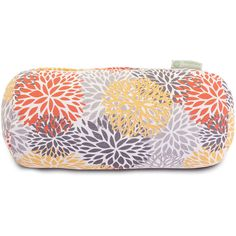 Dot U0026 Bo Bloom Burst Round Bolster Pillow ($35) ❤ Liked On Polyvore  Featuring