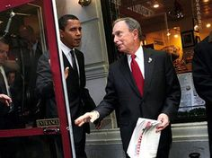 BLOOMBERG TO OBAMA: STAY OUT OF NYC. Obama desperately wanted to visit New York City to let the photographers capture him overseeing the damage. He wanted his hero moment.  Mayor Michael Bloomberg of New York City doesn't have time for that nonsense. He's actually too busy being the mayor of a city in major crisis to squire Obama around for his election campaign.    ...good going Mayor Bloomberg!