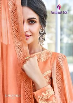 Price Per Piece :- ₹2195 Minimum Order :- 5 Pcs Full Set Price :- *₹10,975 + ₹1,317 (GST 12%)* *Fabric Description* 👗Top :- Apple Georgette 👖Bottom :- Dull Santoon 🏳️🌈Dupatta :- Nazmin Size :- M(38), L(40), XL(42), XXL(44) Anarkali Lehenga, Ghagra Choli, Silk Lehenga, Party Wear Lehenga, Party Wear Dresses, Ladies Suits Indian, Western Gown, Indian Clothes Online, Fancy Gowns