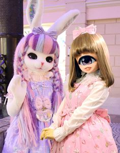 ☆Luna and Chimo☆  Chimo is the cutest cyclops girl , made by Ozawa Dango!
