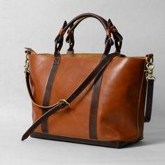 Image of Spring 2015 Women's Handmade Leather Handbag / Purse / Shoulder Bag / Messenger Bag (m19)