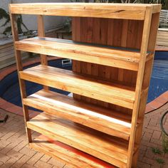 Shelf built out of recycled rimu taken out of and old house in Mount Eden . Not quite finished Mount Eden, Bookcase, Recycling, Shelf, It Is Finished, House, Home Decor, Homemade Home Decor, Shelves