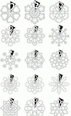 Schneeflocken aus Papier basteln- Anleitung-dekoking-com-11