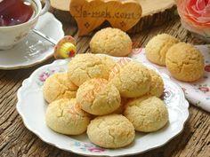 Hindistan Cevizli Kurabiye Baked Goods, Tea Time, Muffin, Cheese, Cookies, Baking, Breakfast, Desserts, Recipes
