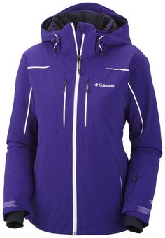 Women's Millennium Blur™ Jacket #ColumbiaSportswear This jacket has a very nice shape,  to make your curves feel divine.