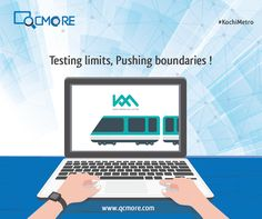 Like the #KochiMetro, #QCMore believes in testing yourself to reach perfection. We wish the people of Kochi fast traffic free rides on the Metro! #KochiMetro #MetroCity QCmore Software Testing Training Institute Kochi 9061645458   www.qcmore.com