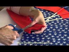 Manualidades con Beatriz Guajardo, Arreglo de mesa para el 18 septiembre - YouTube