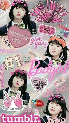 "Girl Suga ""Min YoonJi"" - Can someone please make this a phone case? Bts Suga, Min Yoongi Bts, Bts Bangtan Boy, Suga Wallpaper, Min Yoongi Wallpaper, Bts Girl, Bts Boys, Foto Bts, Bts Memes"