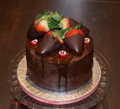 I per Postres... Blog de Postres: Pastís de Xocolata amb crema de Xocolata i Formatge