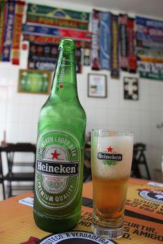 Heineken gelaaaada do Bar do Berinjela no Tatuapé em São Paulo-SP