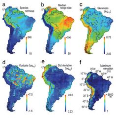 Graves & Rahbek 2005. Source pool geometry and the assembly of continental avifaunas. PNAS.