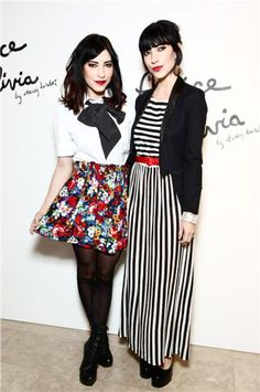 Black Haired beauties, The Veronicas