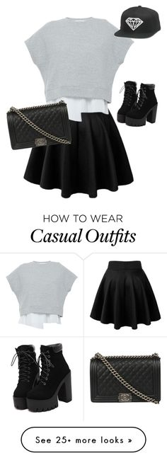 """""""Flirty casual"""" by dl1021 on Polyvore featuring 10 Crosby Derek Lam, Chanel, women's clothing, women's fashion, women, female, woman, misses and juniors"""