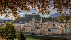 Salzburg Colors - Exposure of Salzburg historic center from the Kapuzinerberg.