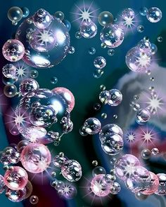i love Bubbles and no matter where I am, if I see one i have to chase it down and pop it!