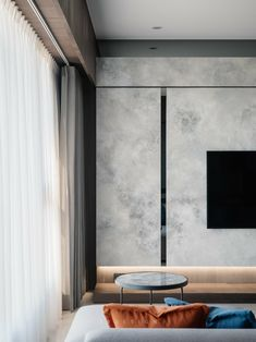 Living Room Tv, Living Room Modern, Living Room Interior, Living Room Designs, Tv Feature Wall, Feature Wall Design, Modern Tv Wall Units, Minimalist Home Interior, Piece A Vivre
