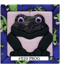 "Frog Quilt Magic Kit-6""X6"""